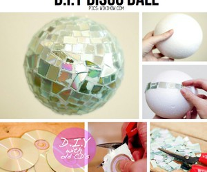 diy, disco, and disco ball image