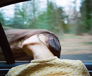 girl, hair, and Road Trip image