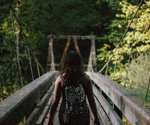 away, photography, and bridge image