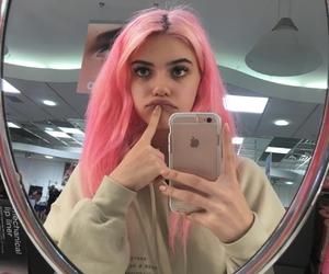tumblr, hair, and pink image