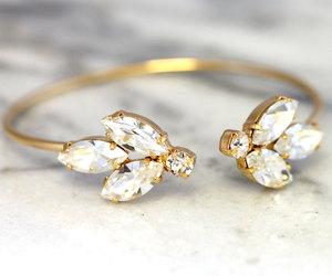 bracelet, etsy, and wedding image