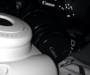 camera, polaroid, and hipster image