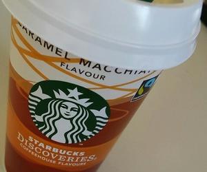 coffee, drinks, and starbucks image