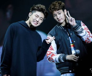 bi, chanwoo, and Ikon image
