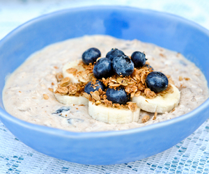 banana, blueberry, and oats image