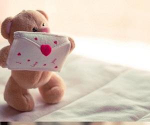 cute, teddy, and bear image