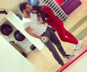 love, couple, and sport image