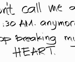 breakup, heartbreak, and quote image