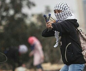arabs, girl, and palestine image