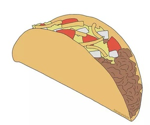 overlay, tacos, and transparent image