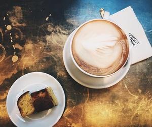 coffee, girl, and Hot image