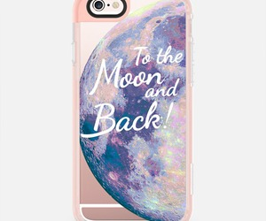 iphone, to the moon and back, and iphone case image