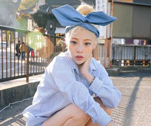 beauty, girl, and street fashion image