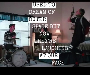 laughing, outer space, and video image