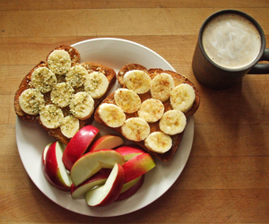 breakfast, eat, and fit image