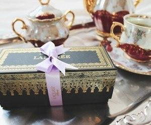 laduree, tea, and food image