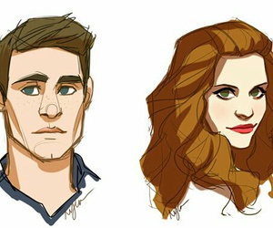 draw, lydia martin, and teen wolf image