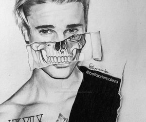 amazing, justin bieber, and draw image