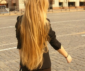 beautiful, blond hair, and indie image