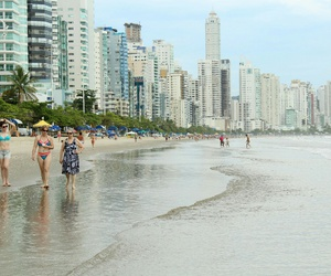 brasil, mar, and playa image
