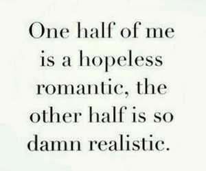 quotes, romantic, and realistic image
