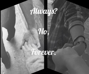 forever, heart, and love image