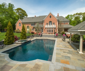 architecture, living, and swimming pool image
