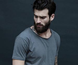 beard, guy, and man image