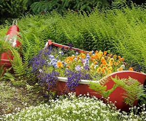 diy garden ideas, diy garden projects, and diy garden decor image