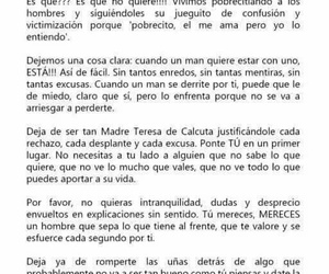 chicas, frases, and mujeres image