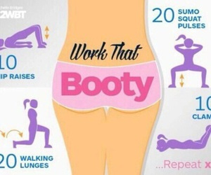 booty, diy, and fitness image