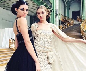 gigi hadid, kendall jenner, and chanel image