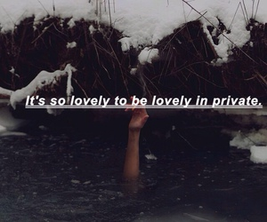 lovely, quote, and violet image