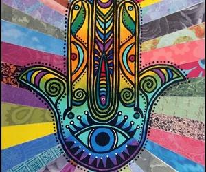hamsa and colors image
