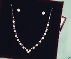 diamonds, necklace, and gift image