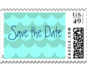 girls, save the date, and stamps image