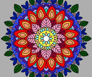 colores, colors, and mandala image