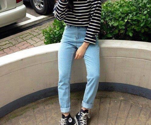 grunge, fashion, and jeans image