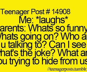 laugh and parents image