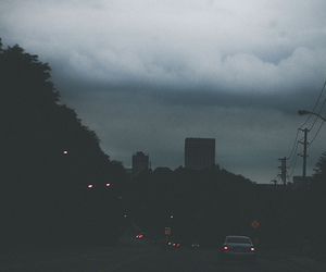 grunge, city, and dark image