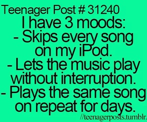 funny, teenager post, and music image