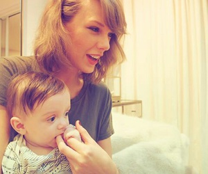 Taylor Swift and baby image