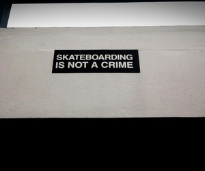 crime, not, and skate image