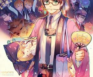 noragami, anime, and kazuma image
