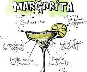 drink, margarita, and mix image