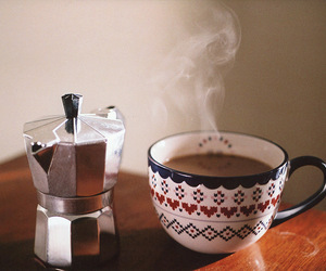 coffee, vintage, and Hot image
