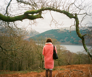 alone, fashion, and forest image