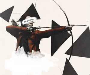 the hunger games, tribute, and girl on fire image