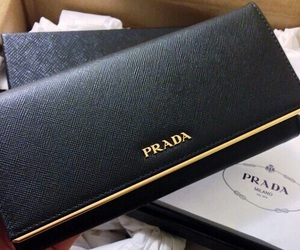 Prada, fashion, and black image