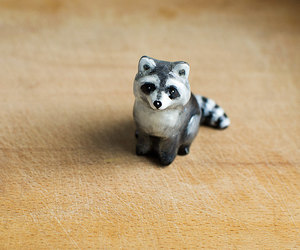 cute animals, etsy, and woodland image